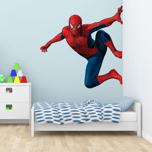 Simulacion colocacion vinilo spiderman