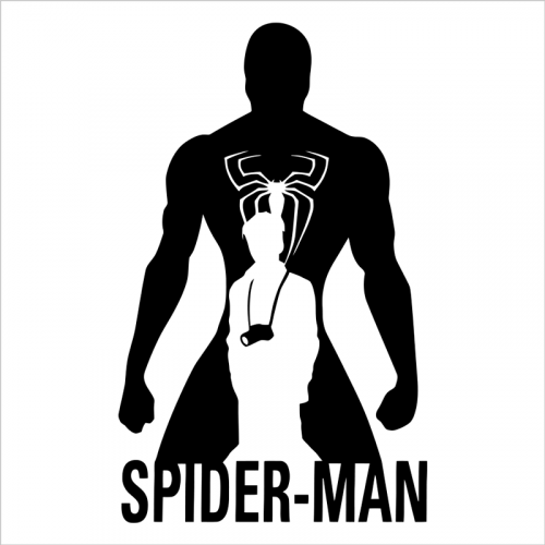 Vinilo spiderman pared