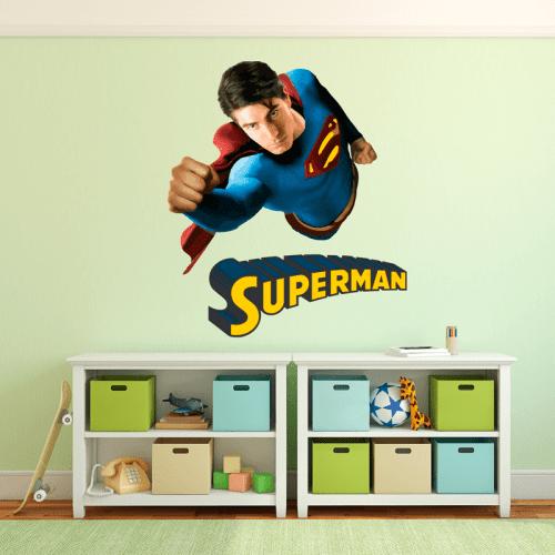 Simulación vinilo superman