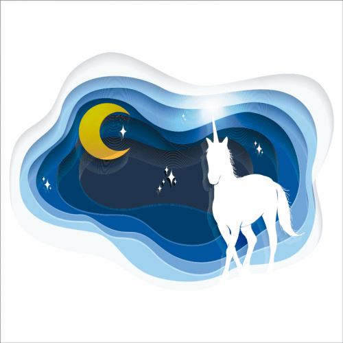 vinilos unicornios