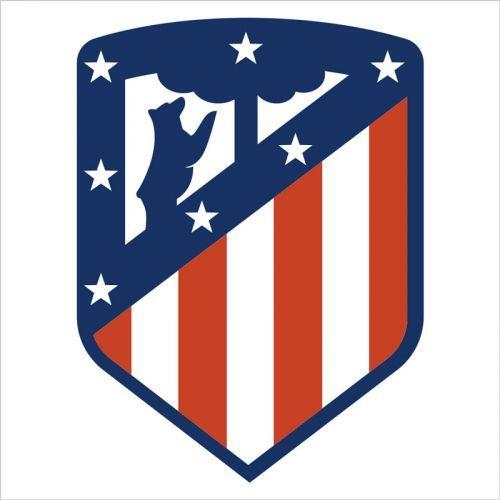 Vinilo de pared del escudo del Atlético de Madrid