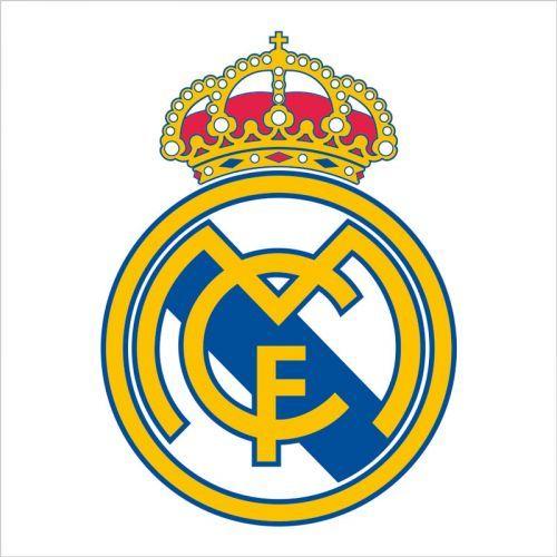 Imagen de escudo del Real Madrid para vinilo de pared