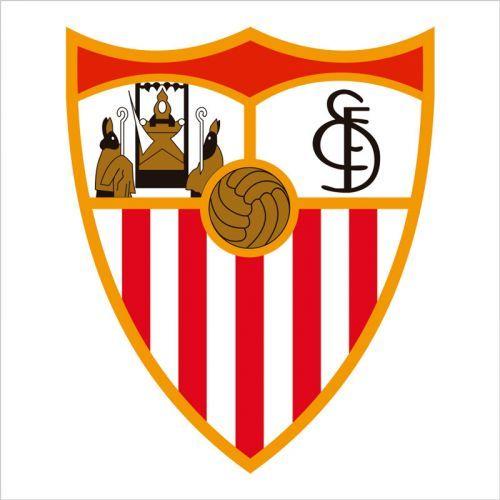 Vinilo de pared escudo Sevilla Club de futbol
