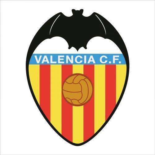 Escudo del valencia club de futbol para hacer en vinilo de pared