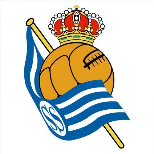 Vinilo de pared escudo Real Sociedad